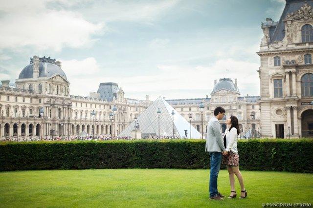 파리 최초+유일한 포토스튜디오 풍크디움, 풍크디움 파리 스냅의 할인특가!