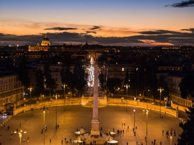 [만족도 1위] 선선할 때 시작하는 로마 오후 시내 투어,야경은 덤!