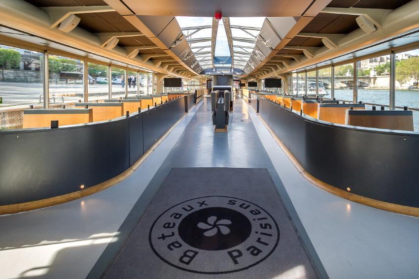 바토 파리지앵 크루즈 E-Ticket (Bateaux Parisiens E-Ticket)