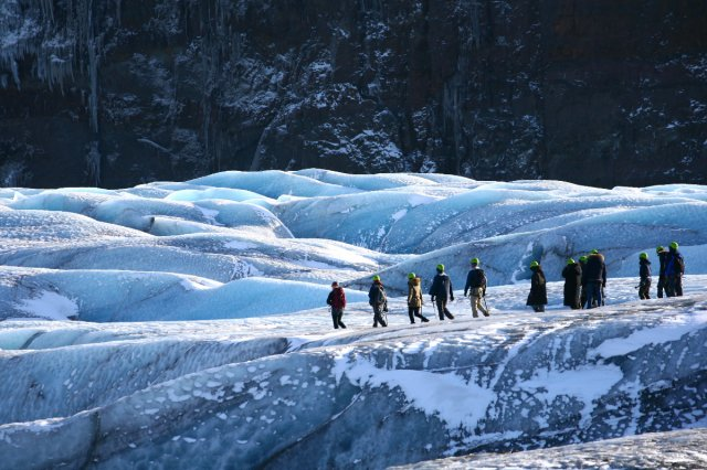 스카프타펠 얼음 동굴 어드벤쳐 with 빙하 하이킹