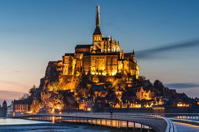 <6월 투어 오픈>[몽생미셸]Real 전문 가이드! 몽생미셸 야경+에트르타+옹플뢰르