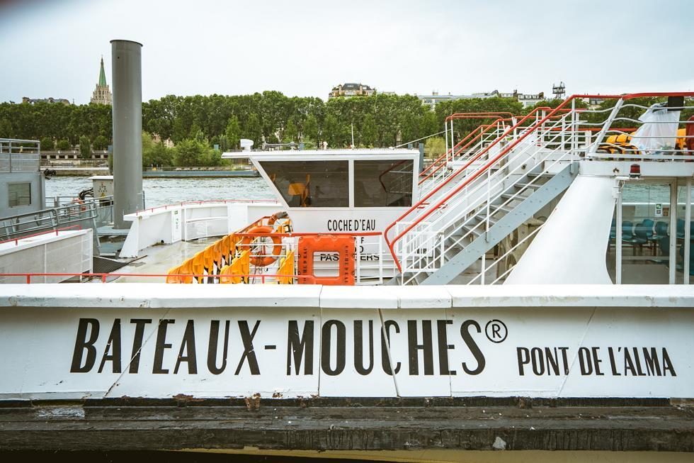 바토무슈 크루즈 E-Ticket (Bateaux Mouches E-Ticket)