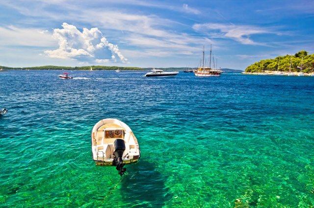 [트로기르 출발] 아드리아해의 보석! 흐바르+파클레니섬 스피드보트 투어