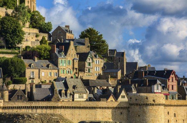 몽생미셸+옹플뢰르+에트르타 [차량투어]