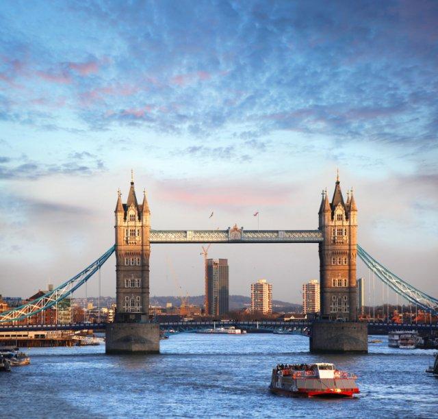 런던 템즈강 런치 크루즈 티켓