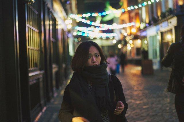 [시즌, 런던 야경 스냅] 런던, 소호, 크리스마스 라이트 로맨틱 스냅
