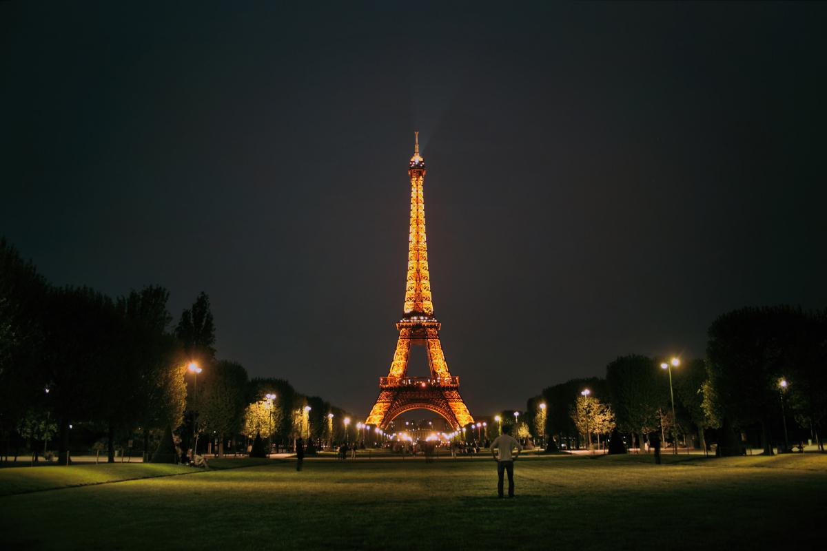 에펠탑 야경 동행