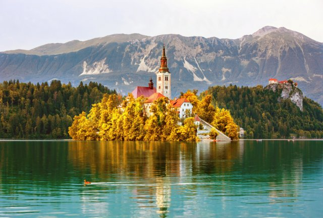 [자그레브 출발][케이블카 탑승&블레드 성 입장]슬로베니아 수도 류블라나&블레드 호수 투어