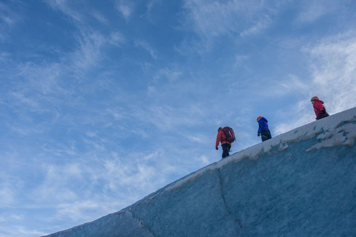 눈 앞에 펼쳐진 얼음왕국 <솔헤이마요쿨> 하이킹