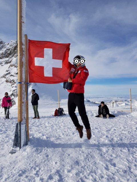 한국인 가이드와 융프라우(Jungfraujoch) 등정