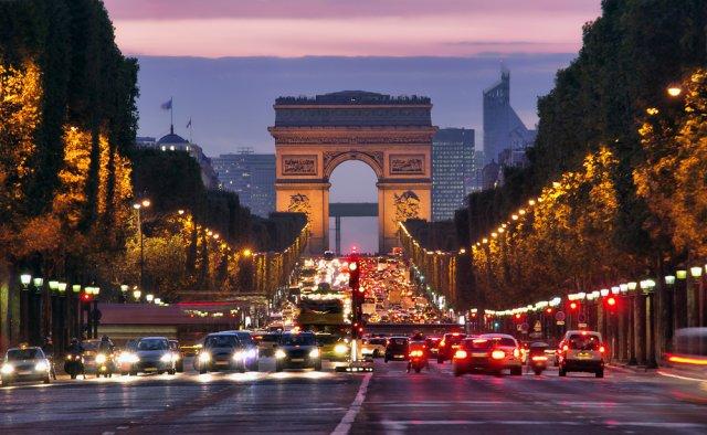 파리야경투어, 빛이 아름다운 도시 파리, 안녕!파리 VTC 차량단독 야경투어~