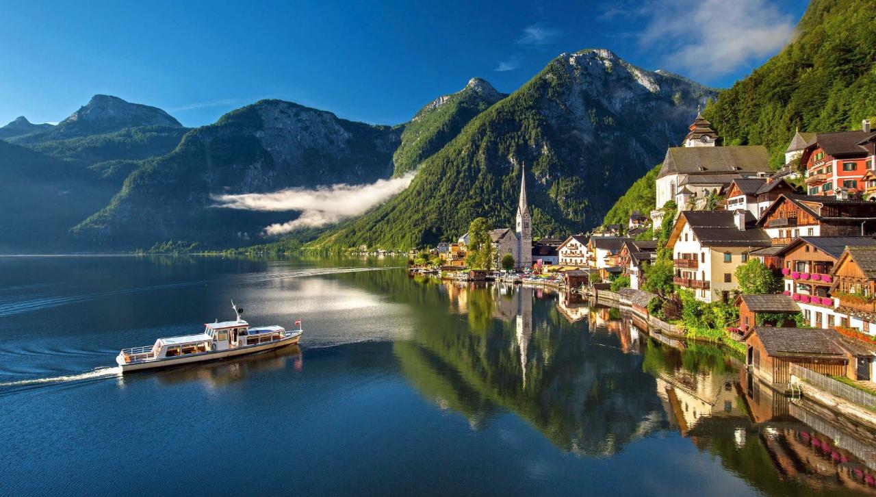 [프라하 출발]체스키+할슈타트투어, 그림같은 호수와 동화속 마을을 하루에!