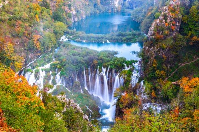 [자그레브 출발][투어열차/보트탑승]숨이 멎게 아름다운 플리트비체 국립공원 + 라스토케 Day trip!