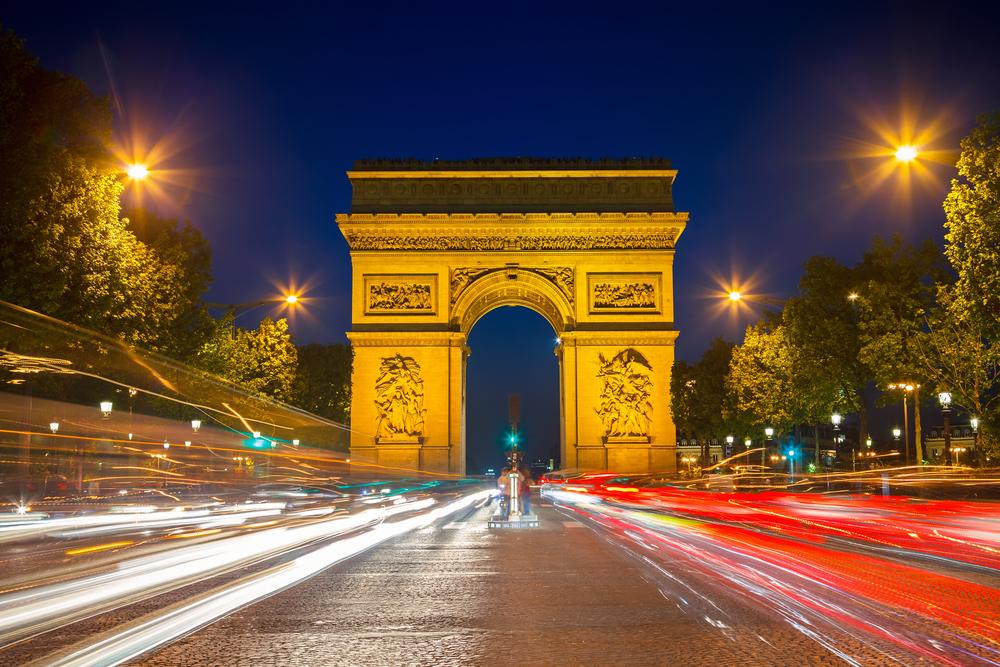 파리 차량 야경 투어