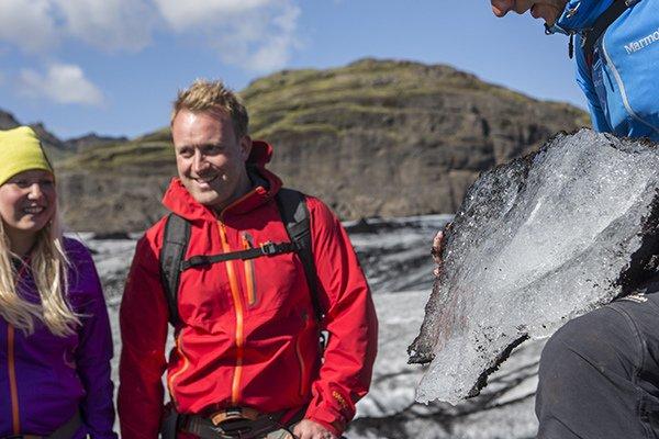 놓치지 말아야 아이슬란드의 솔헤이마요쿨 빙산탐험!
