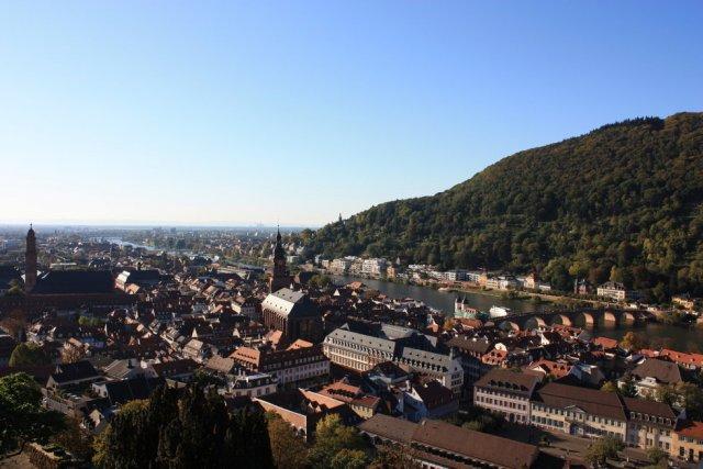 독일 하이델베르크 자전거 투어 시내 - 노이부르크 수도원