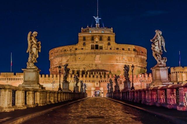 로마야경투어 / 콜로세움 / 베네치아광장 / 천사의성 산책하는 밤